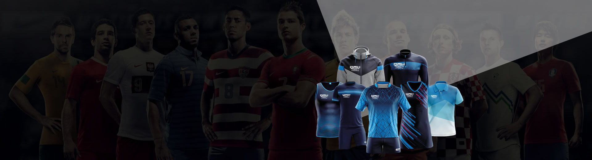 Cut And Sew Soccer Jersey Manufacturers in Ireland