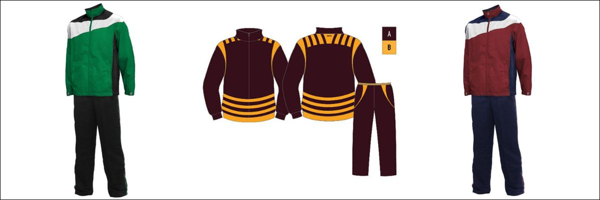 Tracksuits: Sublimated Designs The Best For Athletes