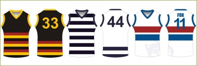 AFL uniforms: an Integral Part of the Grandest of Games