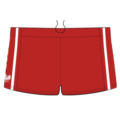 Custom AFL Shorts North Korea