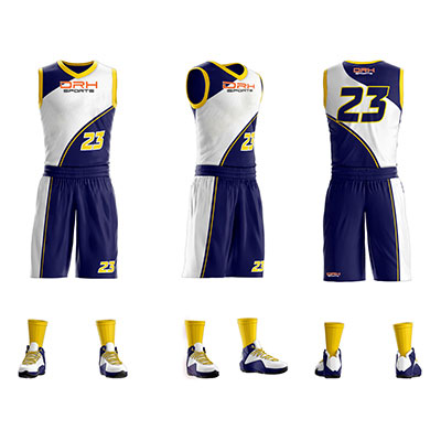 Basketball Uniforms Manufacturer in Italy