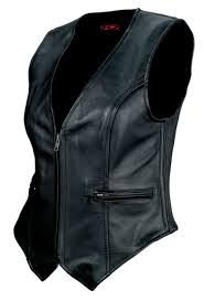 Custom Leather Vest Aurora