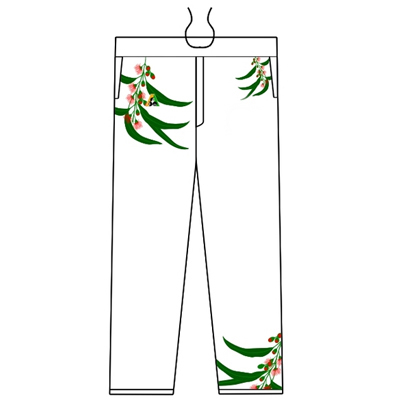 Custom Sublimation Cricket Pants Derby