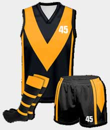 Custom AFL Uniforms Suppliers In Papua New Guinea