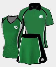Custom Netball Uniforms Suppliers In Fontana