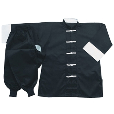 Black Kung Fu Suits Wholesaler