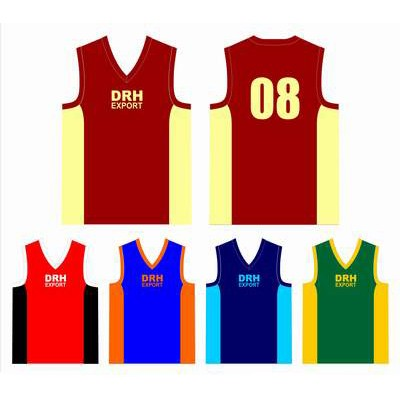 Custom Basketball Team Singlets Wholesaler