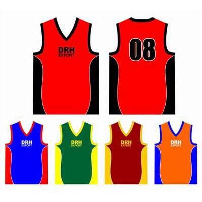 Custom Made Basketball Singlets Wholesaler