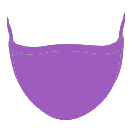 Elite Face Mask  - Purple Wholesaler