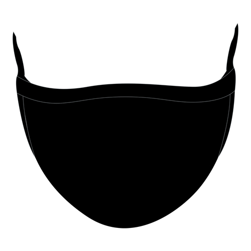 Elite Face Mask - Black Wholesaler