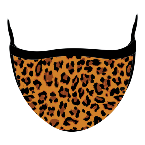 Elite Face Mask - Leopard Wholesaler