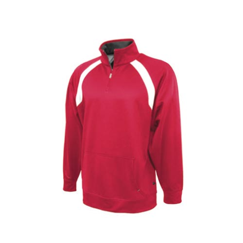 Fleece Quarter Zip SweatShirts Wholesaler