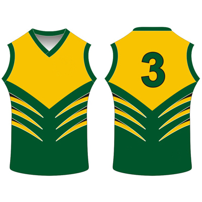 Custom Personalised AFL Jersey Manufacturers Aurora