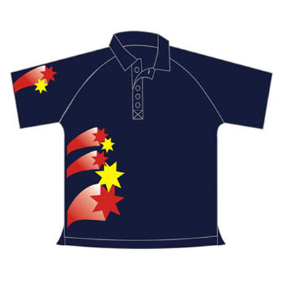 Sublimated Team Cricket Shirt Wholesaler