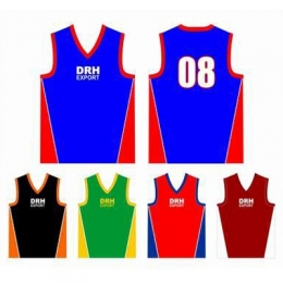 Custom Sublimated Basketball Singlets Manufacturers, Wholesale Suppliers