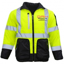 HIVIS 4-in-1 Safety Puffer Jacket Manufacturers in Indonesia