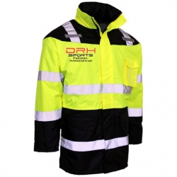HIVIS Fleece Lined Safety Parka Manufacturers in Finland