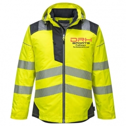 HIVIS Insulated Rain Jacket Manufacturers in Denmark