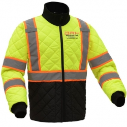 HIVIS Quilted Safety Jacket Manufacturers in Denmark